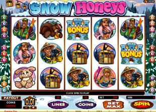 Snow Honeys slot game online review