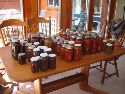 Preserves from the 2011 summer