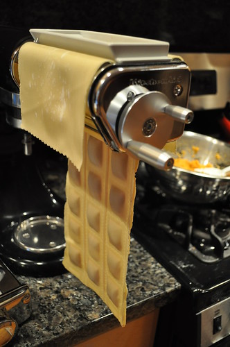 Ravioli Maker in Action