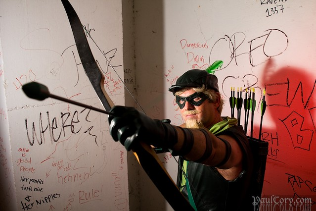 Green Arrow in a Bad Place