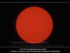 The Sun-Spots @ 12-9-2011 16:04pm GMT+3 ({ahradwani.com} Hawee Ta3kees- ) Tags: sun solar bigma experiment sigma ali hassan  sunspot doha qatar  50500mm 2011 2xteleconverter d90     sigma50500mm sunbursts sigma2xteleconverter nikond90    hawee solarcycles haweeta3kees   ta3kees ahradwanicom ahradwani  nikond90sampleimages