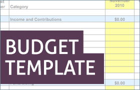 Examples Of Budget Templates