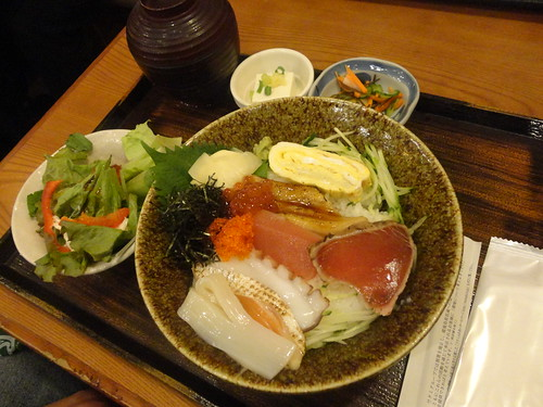 Chirashi - also delcious