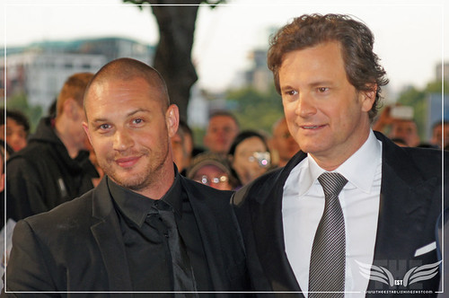 The Establishing Shot : Tinker, Tailor, Soldier, Spy Premiere - Tom Hardy, Colin Firth by Craig Grobler