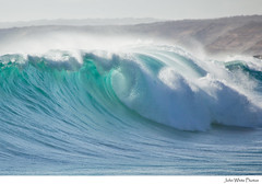 Wave (john white photos) Tags: ocean sea green nature water coast surf break australian wave australia coastal southaustralia eyrepeninsula greenlybeach