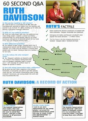 Conservative Scottish Election Leaflet, 2011 (Scottish Political Archive) Tags: scotland election glasgow scottish msp conservative publicity davidson campaign 2011