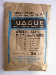 vogue spare parts supplementary set 4 (meccanohig) Tags: steel vogue sets constructional