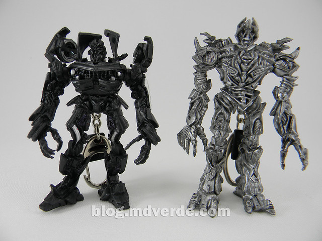 Transformers llaveros - Movie 2007 - Barricade y Megatron