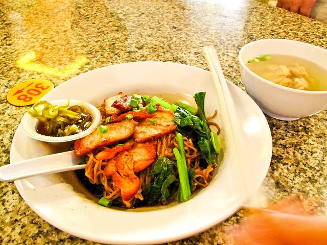 IMG_0590 Wanton Mee , 云吞面 ,Wooley Food court , Ipoh