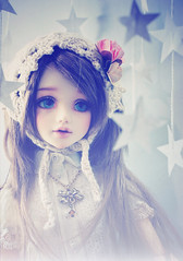 Unoa Lusis for Tiny Feet (Cyristine) Tags: fairytale ball stars asian doll dream bjd msd jointed unoa lusis