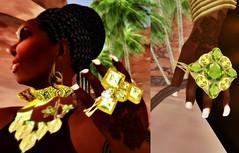 213IvoryC003 (Chioma Namiboo Jinn) Tags: africa urban brown black beautiful beauty fashion vintage shopping hair french fun clothing women dress skin designer avatar linden earring games lips ring explore rings secondlife westafrica lipstick izumiya mole côtedivoire ivorycoast beautymark waxcloth dadt papercouture glamorize baoulé jetdoll kikolife gankedjewelry babymonkeyshoes slmarketplace visualzsassy shilohjun urbanfashionistas lyricalstore monsjewelry