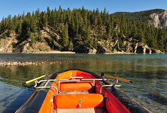 A Raft Ride at Banff (Jeff Clow) Tags: vacation holiday nature forest river fun outside getaway rafting raft enjoyment pleasure albertacanada banffnationalpark