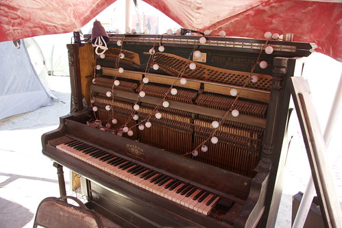 Our beautiful 99-year-old Netzow piano