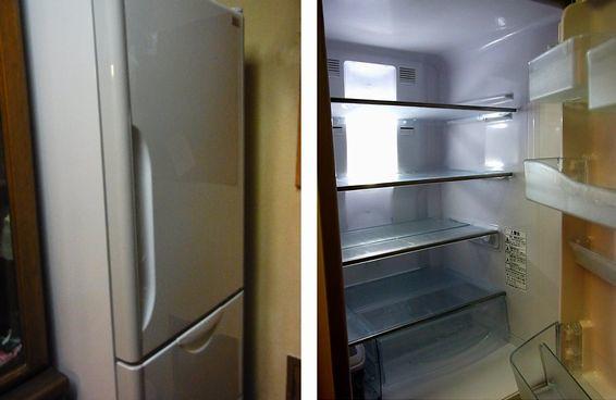 我が家の冷蔵庫は、容量 302L 年間消費電力量 310kWh 年間電気代 6820円ですぞ!