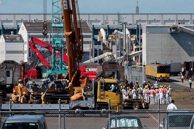 東京メトロ銀座線1000系 1101F 住友金属開発の操舵台車と