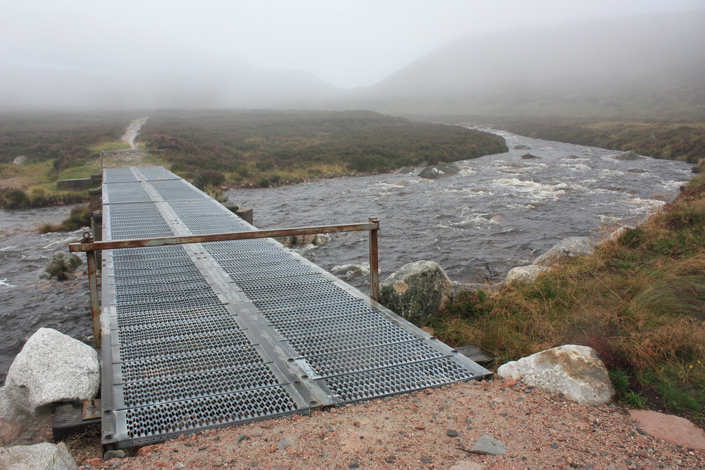 Bridge over the Am Beanaidh