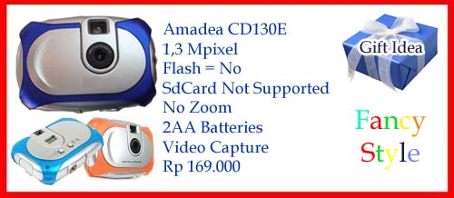 Kamera Digital Murah - CD130E - 1,3 MP - Rp 169.000