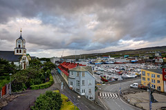 Torshavn, Faroe Islands, Kingdom of Denmark (**Anik Messier**) Tags: sunrise cityscape cathedral capital faroeislands archipelago thorshavn torshavn faroes trshavn kingdomofdenmark streymoy abigfave impressedbeauty lesfro streymoyisland artistpicks anikmessiercopyright bryggjubakkistreet undirbryggjubakkastreet