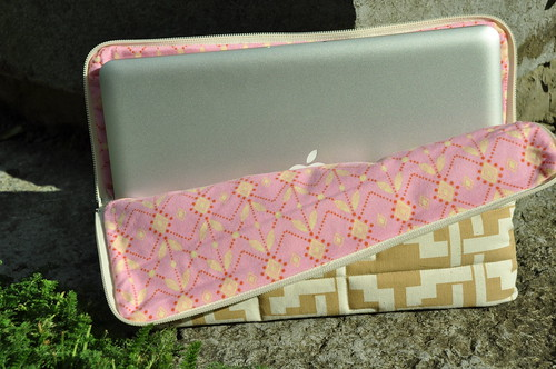 Test laptop sleeve