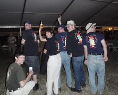 104 The Trolls - Back View (saschmitz_earthlink_net) Tags: party colorado campground glenwoodsprings 2011 cavetrolls billroberts nationalspeleologicalsociety nssconvention scottschmitz danielveelik frankmcdonough petermudpuppymichaud bettyfarfan