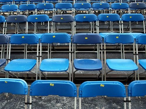 audience plasticchairs emptytheatre