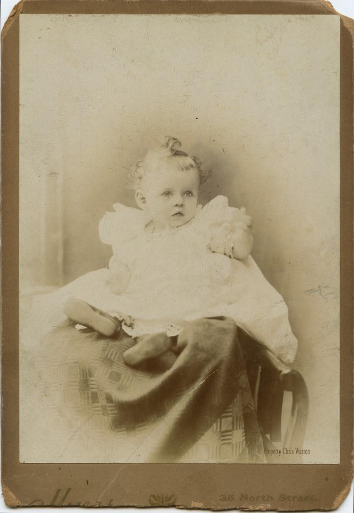 Baby portrait, six-months