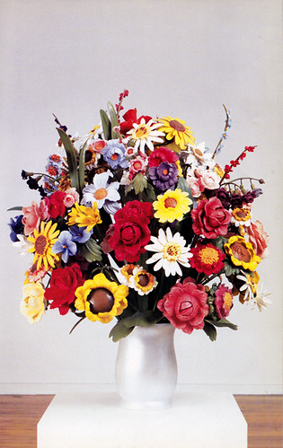 Large Vase of Flowers 1991