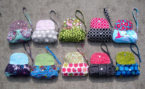 Pouches for upcoming bazaar