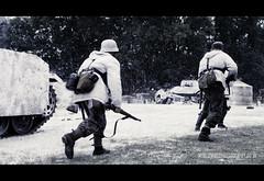 RB-1945 (Robert Bridgens) Tags: winter snow death ss explosion ww2 grenade airborne reenactment sherman panzer execution ksk bastogne bandofbrothers warpeace 50cal mg42 stug k98 mg34 stahlkrieger beltring2011