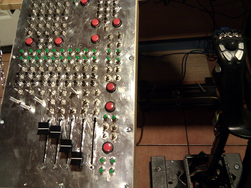 More Inputs By Matrixing Bu0386x Simhq Forums Thread How To Wire A Rotary Switch With Leo Bu0836x Board Description Of The Joystick Is Here For Those Interested Http Forum Ubbthreadsphp Topics 3326335 Custom U Joint Stick Magnhtml