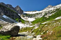Washington Alpine Goodness (Trevor Ducken) Tags: mountains nature water creek landscape outdoors washington nikon nw august cascades pacificnorthwest wa cascademountains 2011 d90 glacierpeakwilderness phelpscreekbasin