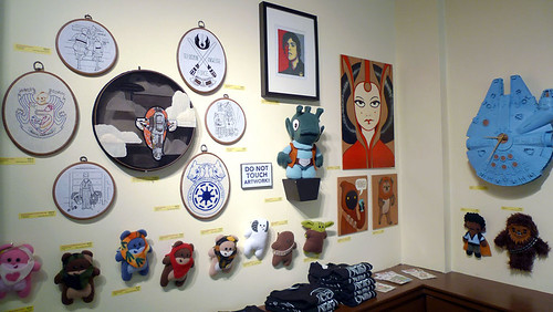 Stitch Wars Strikes Back Gallery Setup