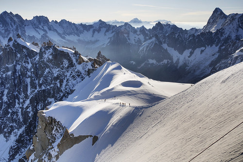 From Chamonix to Courmayer - Aiguille du Midi 08