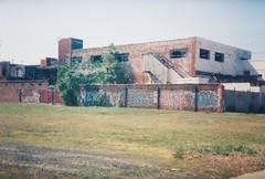(Maddo.) Tags: ohio building abandoned graffiti cleveland pork hide