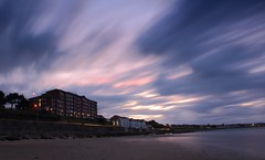 Rhos on Sea (Anthony Owen-Jones) Tags: ocean uk longexposure sunset sea sky color colour beach nature colors wales night clouds canon lens landscape eos rebel bay coast landscapes photo twilight kiss europe long exposure purple unitedkingdom curves north naturallight filter photograph nd getty kit conwy hoya t3i x5 rhosonsea colwynbay northwales rhos colwyn 600d takenwith nd16 perfectsunsetssunrisesandskys canonefs1855mmf3556is clpl rebelt3i kissx5
