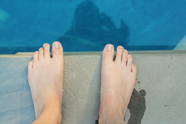 pool dip