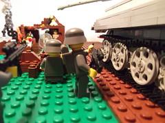 DSCF1151 (phelipe247) Tags: toys tank lego contest plastic ww2 americans panther germans brickarms brickmania