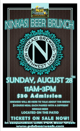 Ninkasi Beer Brunch @ East Burn