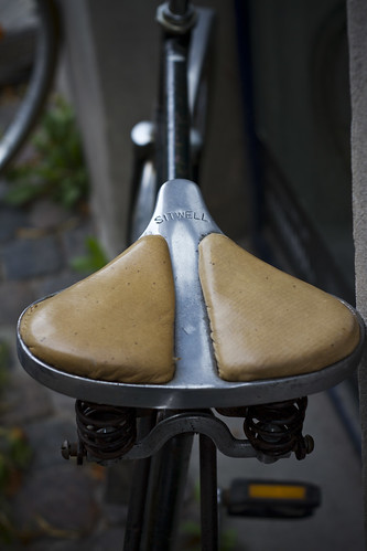 Vintage Sitwell Saddle