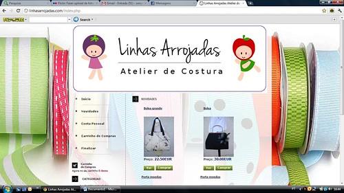 A minha loja on linne by ♥Linhas Arrojadas Atelier de costura♥Sonyaxana
