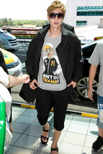 Kim Hyun Joong Taiwan Press Conference [110815] and Taiwan TaoYuan International Airport [110817]