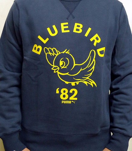 Puma Blue Bird crew neck