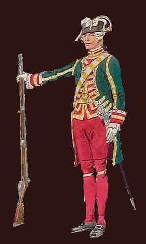 Guardia de la puerta del Conde de Artois, 1786