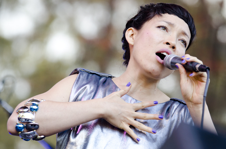 LIttle Dragon at Outside Lands Day 3