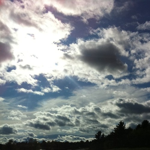 I love the sky