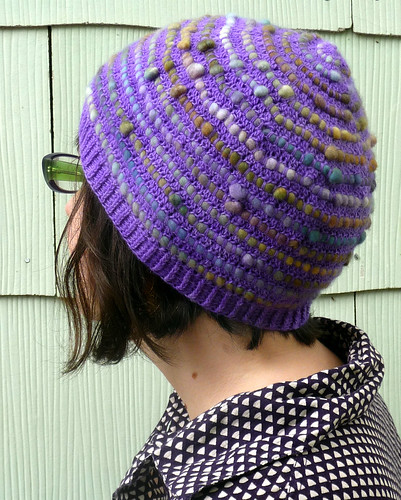Pebble Hat Closeup