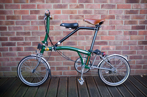 A Child Seat For A Brompton Folding Bike Review