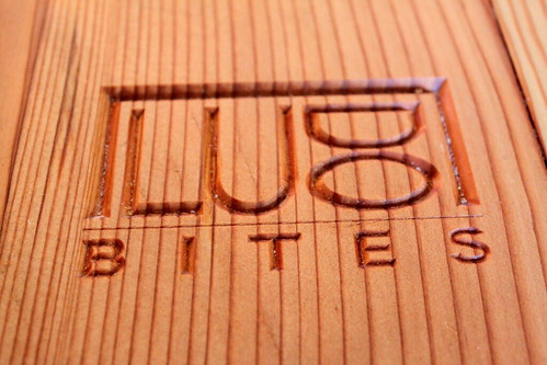 ludobites logo on table