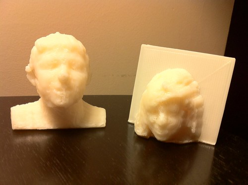 3D Printed Kinect Scans