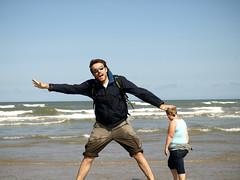 Little Danes, Huge Greeks (Cubilone) Tags: sea beach waves accidental skagen nottakenbyme oneinamillion grenen cubilone